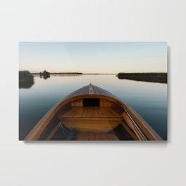 Summer Mornings On The Lake Metal Print