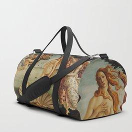 The Birth of Venus by Sandro Botticelli Duffle Bag