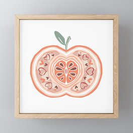 Apple Framed Mini Art Print