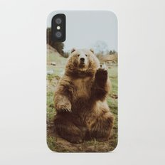 Hi Bear iPhone X Slim Case