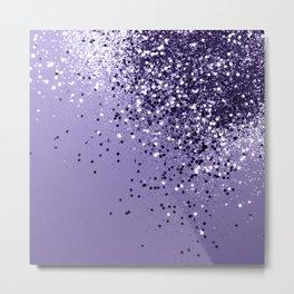 ULTRA VIOLET Glitter Dream #1 #shiny #decor #art #society6 Metal Print