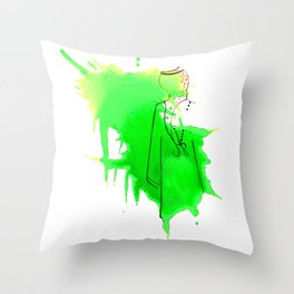 Saudi Throw Pillow