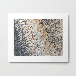 Erosion 1885 abstract art Metal Print