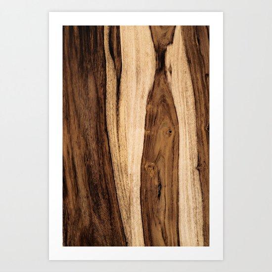 Sheesham Wood Grain Texture, Close Up by forgottencotton