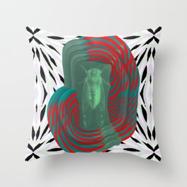 insectvoid Throw Pillow