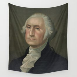 Vintage Portrait of George Washingon (1896) Wall Tapestry