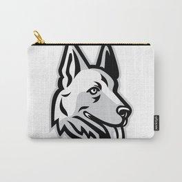 Alsatian Dog Mascot Carry-All Pouch