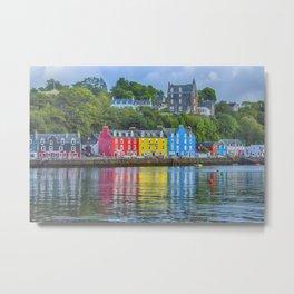 Tobermory Isle of Mull Metal Print