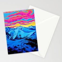 Loveland Pass, CO Stationery Cards