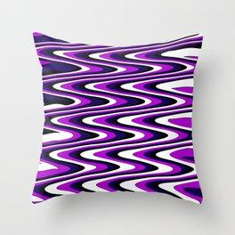 Purple slur Throw Pillow