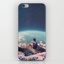 My World Blossomed when I Loved You iPhone Skin
