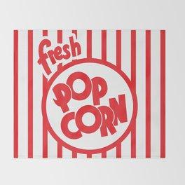 Fresh Popcorn Throw Blanket