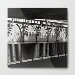 Jannowitz-Bridge - Berlin Metal Print