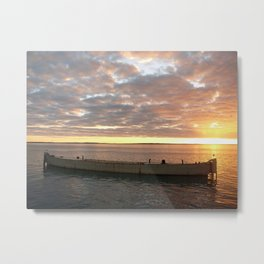   Sunset   Frazer Island   Australia   Metal Print