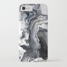 Marble B/W/G iPhone 7 Slim Case