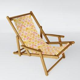 STRANGEBOW Golden Mermaid Scallop Sling Chair
