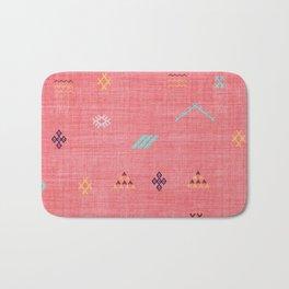 Cactus Silk Pattern in Pink Badematte