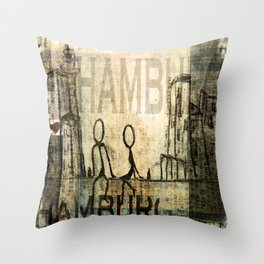 Hamburg Throw Pillow