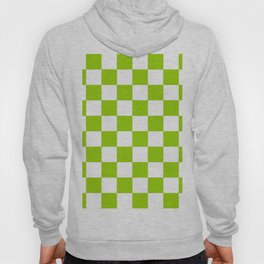 Damier 3 green and white Hoody