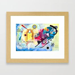 Wassily Kandinsky - Yellow Red Blue Gerahmter Kunstdruck