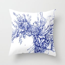 specimen Throw Pillow