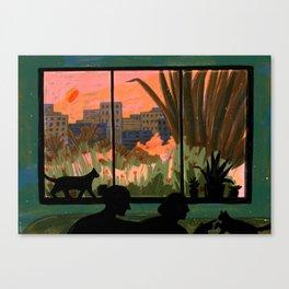 The Golden Hour Canvas Print