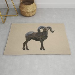 The Rocky Mountain Bighorn Sheep Rug