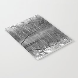 Black and White Reflections over Bluegill Bond Notebook