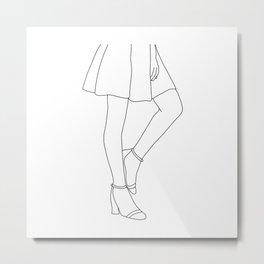 Body language Metal Print