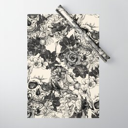 SKULLS 4 HALLOWEEN SKULL Wrapping Paper