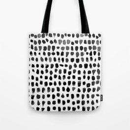 Watercolor Dots Tote Bag
