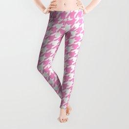 Rose Quartz Houndstooth Leggings