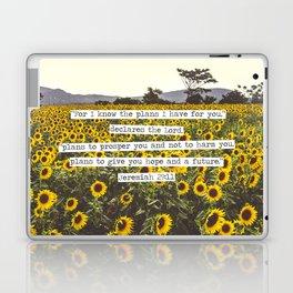 Jeremiah Sunflowers Laptop & iPad Skin