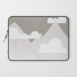 Low Cloud Mountain Scene Laptop Sleeve