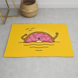 Good morning! - Cute Doodles Rug