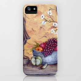 Malayan Table iPhone Case