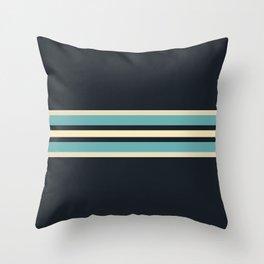 Fusahide - Classic 70s Retro Stripes Throw Pillow