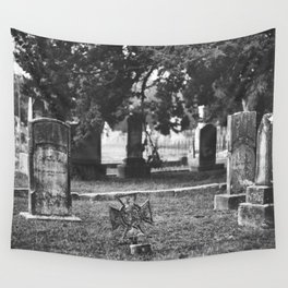 Headstones Wall Tapestry