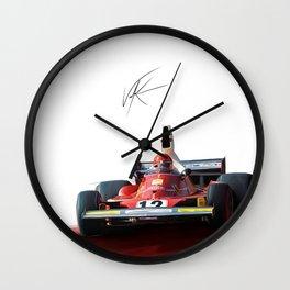 Pilot L Wall Clock