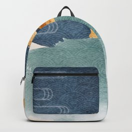 Japanese Abstract Art I Backpack
