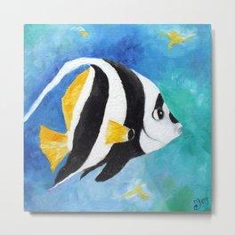 Banner Fish Metal Print