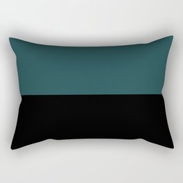 Contemporary Color Block XII Rectangular Pillow