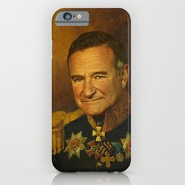 Robin Williams - replaceface iPhone Case