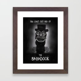 The Babadook Framed Art Print