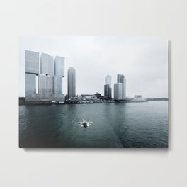 De Rotterdam | OMA architects | Netherlands Metal Print