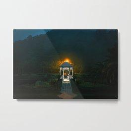 Victoria Peak Garden Metal Print
