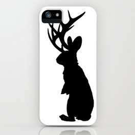 Jabberwock Jackalope iPhone Case