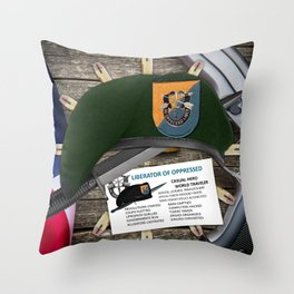 (Inactive Group) 8th SFG(A) Throw Pillow