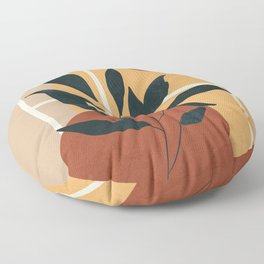 Abstract Shapes No.16 Floor Pillow