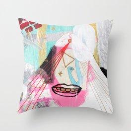 Comos Throw Pillow